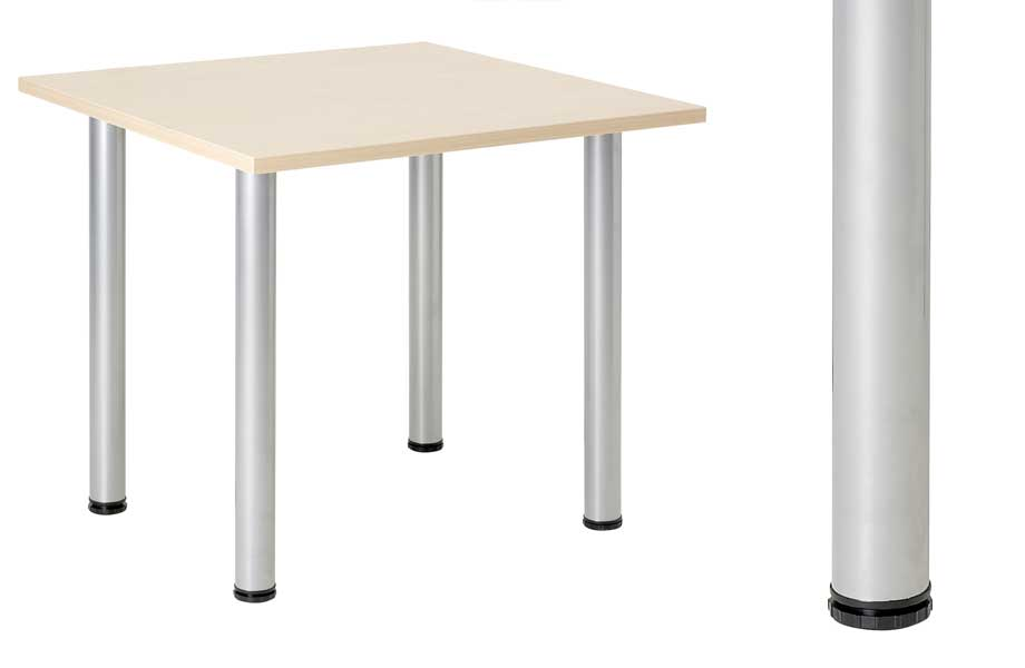 how to cut round table legs